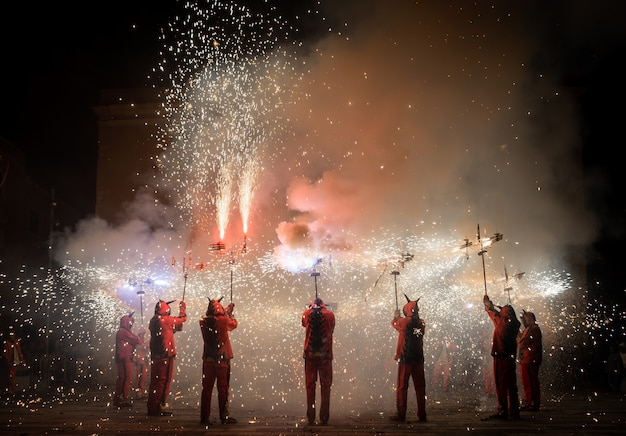 Correfocs traditionnels