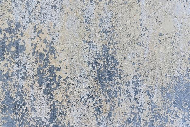 Corrosion du métal grunge sur l'acier