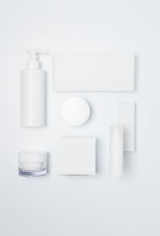 Cosmétiques santé blanc belleza étiquette