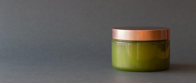 Cosmétiques verts. cosmétiques naturels. soin de la peau.