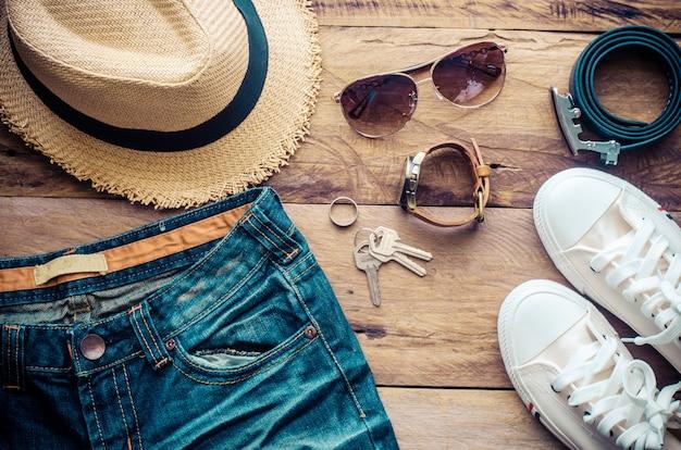 Costume accessoires de voyage le coût des cartes de voyage préparé pour le voyage