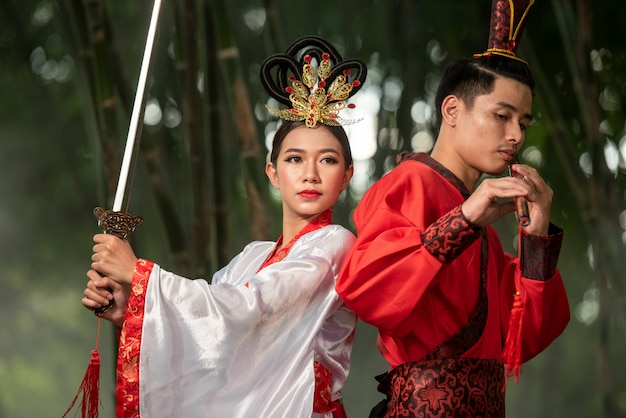 Costume antique chinois
