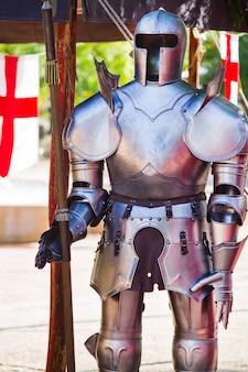 Costume d'armure médiévale