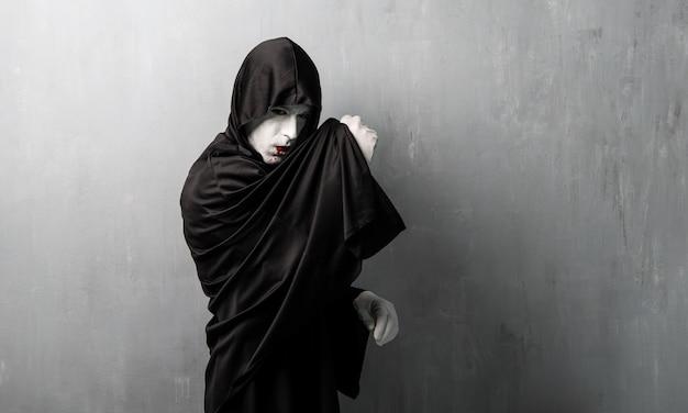 Costume de vampire pour les vacances d'halloween