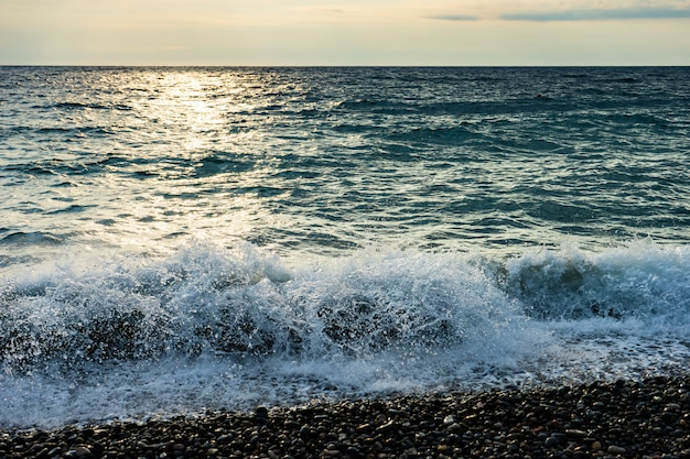 Côte adjare de la mer noire