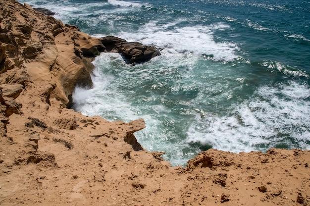Côte atlantique. timassinin. maroc. afrique
