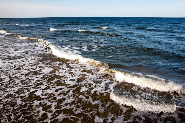 Côte de la mer baltique