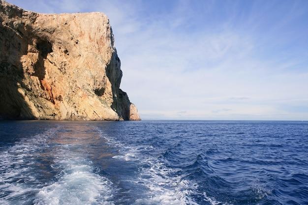 Côte et rochers