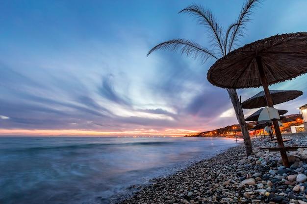 Côte tropicale, plage
