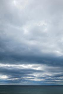 Côtière nuages hdr paysage aquatique