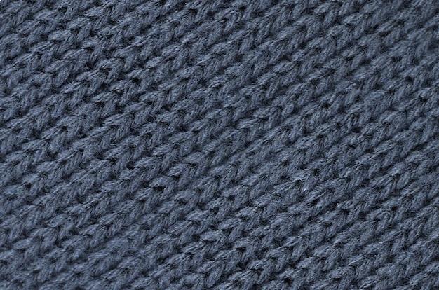 Coton tricoté, texture laine