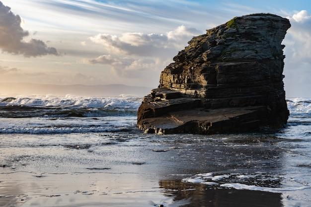 Coucher de soleil sur la côte cantabrique!