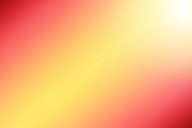 Couleur d'arrière-plan clair rose jaune dégradé flare