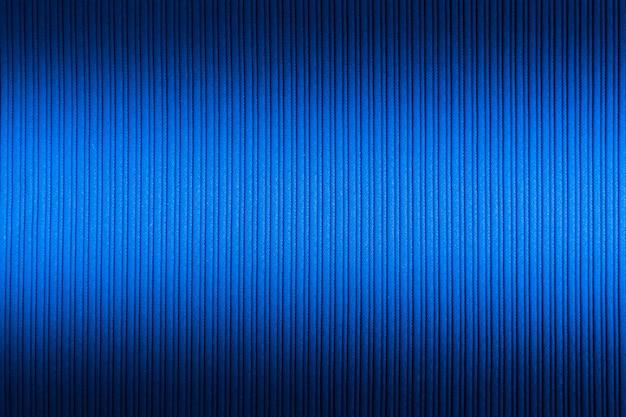 Couleur bleue décorative, texture rayée haut et bas dégradé.