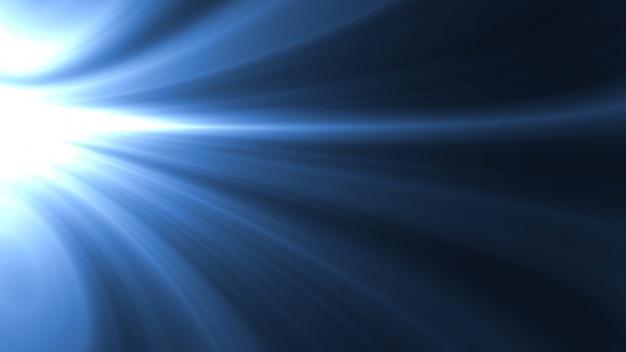 Couleur bleue lisse abstraite. fond de vague et courbe moderne