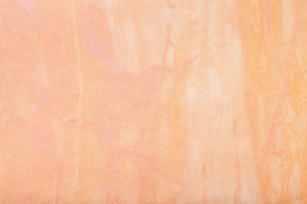 Couleur corail clair de l'art abstrait. peinture multicolore sur toile.