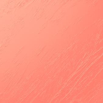 Couleur de corail vivant brosse trait texture fond pantone couleur