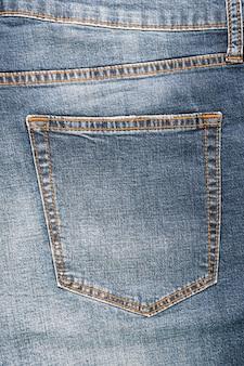 Couleur coton bleu tissu de tissu