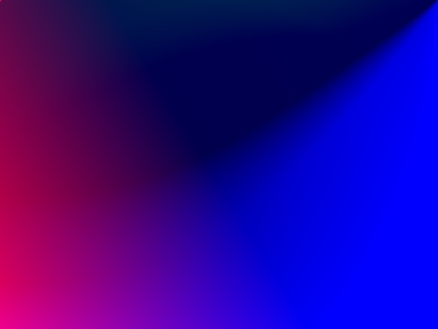 Couleur de flou dégradé rose bleu vif disposée en toile de fond de fond d'écran photo premium
