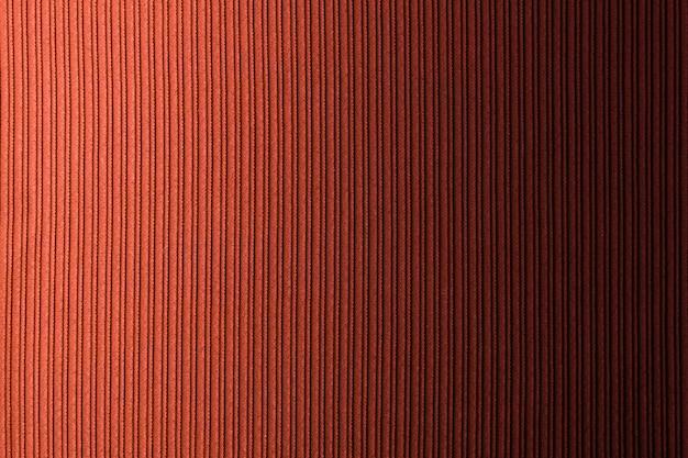 Couleur de fond orange marron, dégradé horizontal texture rayée. fond d'écran.
