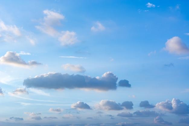 Couleur lumière ciel cloudscape