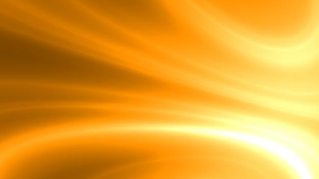 Couleur or lisse abstraite. fond de vague et courbe moderne