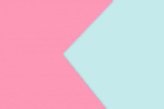 Couleur de papier pastel rose et bleu pour le fond de texture