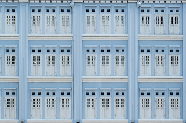 Couleur pastel bleu clair de windows, de fond abstrait