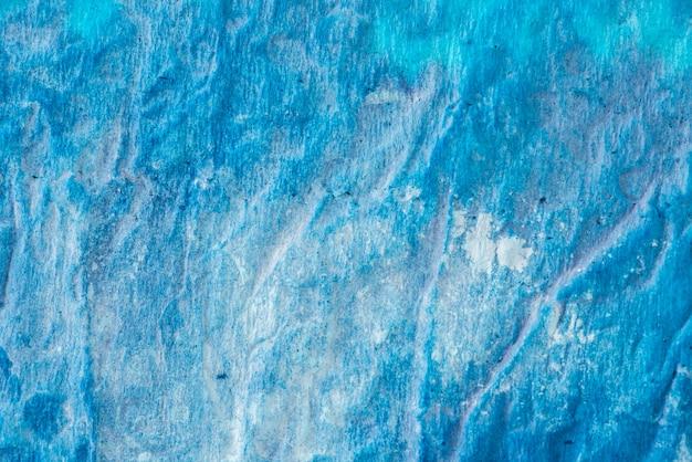 Couleur de peinture bleue sur fond de papier