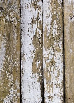 Couleur pelée de la texture en bois