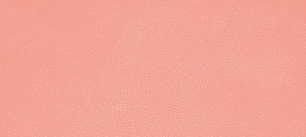 Couleur de la texture de la peau en cuir véritable le rose orange est appelé fleur du désert.