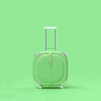 Couleur de voyage valise pastel