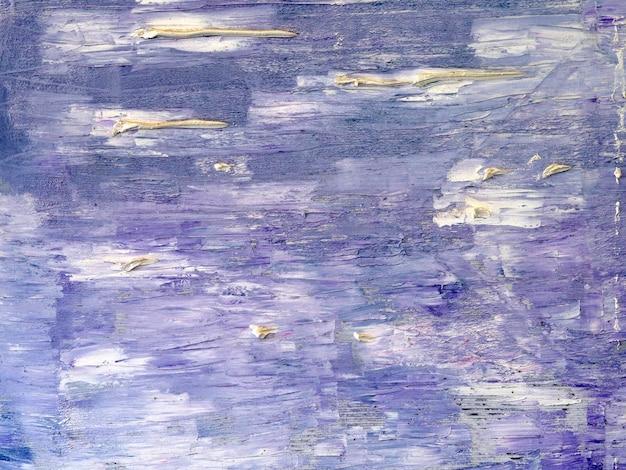 Couleurs abstraites douce peinture à l'huile abstraite