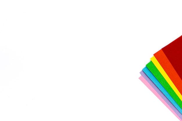 Couleurs de l'arc-en-ciel, symbole des lgbt