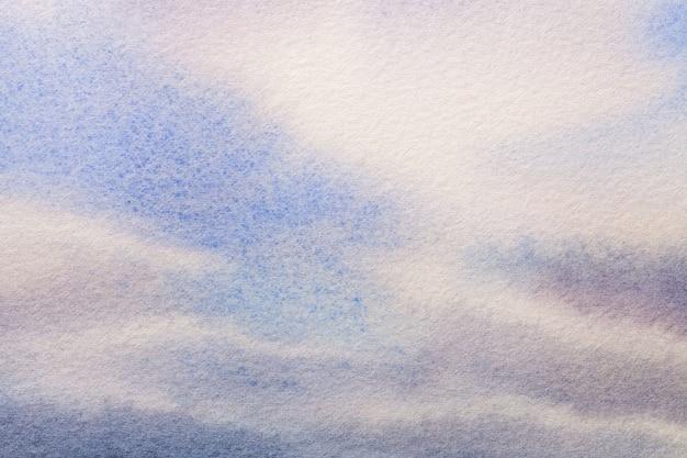 Couleurs bleu et blanc clair de l'art abstrait.
