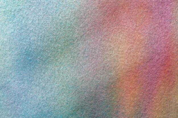 Couleurs bleu clair et turquoise d'arrière-plan art abstrait. aquarelle sur toile.