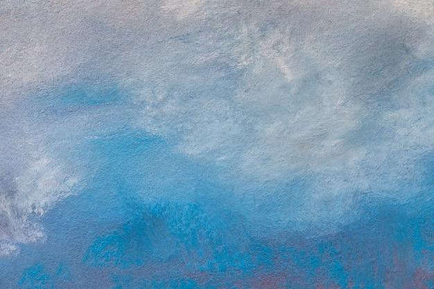 Couleurs bleu clair et turquoise d'art abstrait