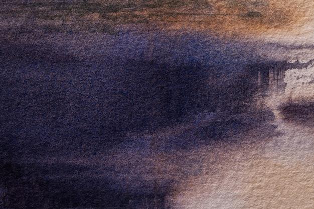 Couleurs bleu marine de fond d'art abstrait.