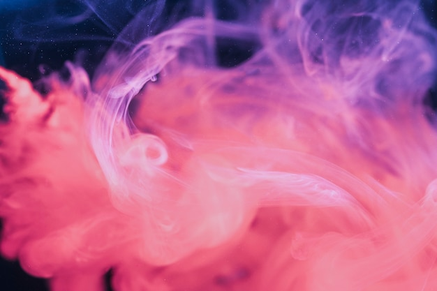 Couleurs combinées abstraites violettes et roses