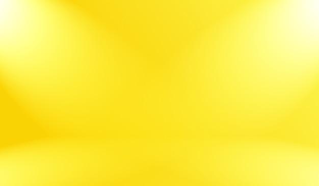 Couleurs douces abstraites magiques de fond dégradé jaune brillant.