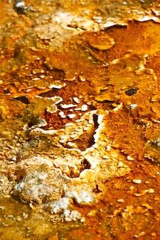 Couleurs du bassin de geyser