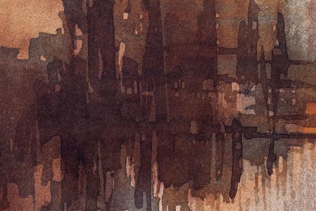Couleurs marron foncé de l'art abstrait.
