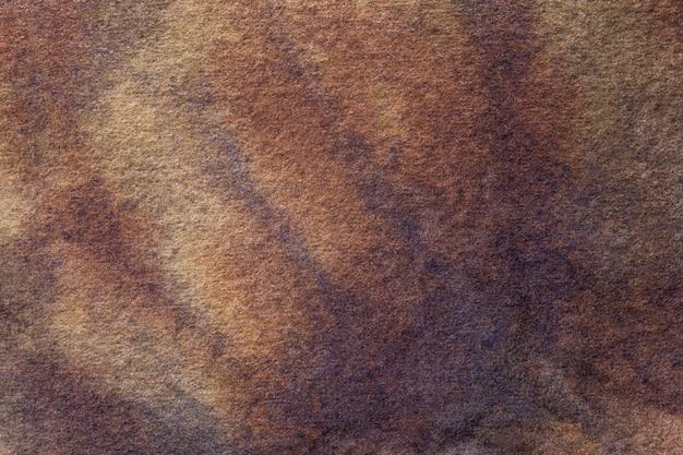 Couleurs marron foncé et beige de l'art abstrait.