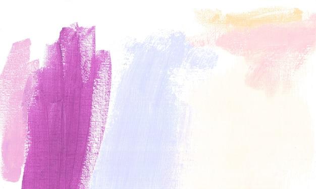 Couleurs pastel oeuvre texture peinture abstraite violet rose bleu fichier de numérisation haute résolution