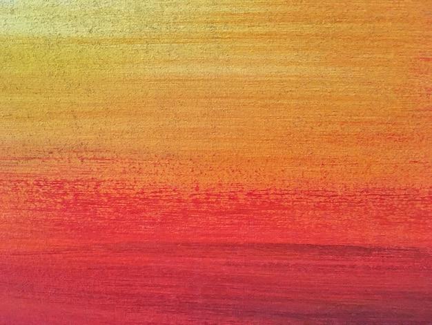 Couleurs rouge et orange de l'art abstrait.