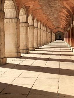 Les couloirs du palais d'aranjuez