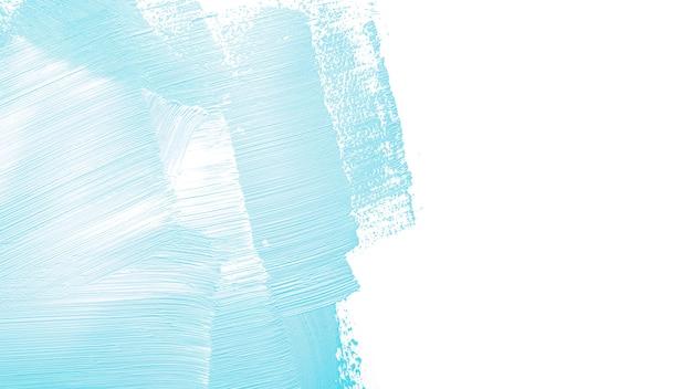 Coup De Couleur Bleue Sur Le Mur Photo gratuit