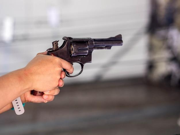 Coup de feu dans la main