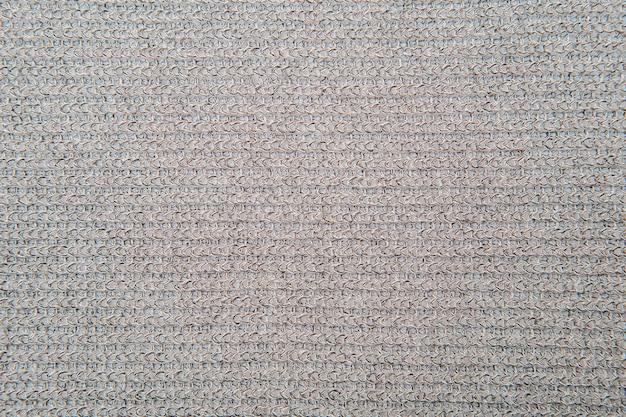 Coup de macro de tissu texturé en jersey