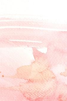 Coup de pinceau aquarelle abstraite.